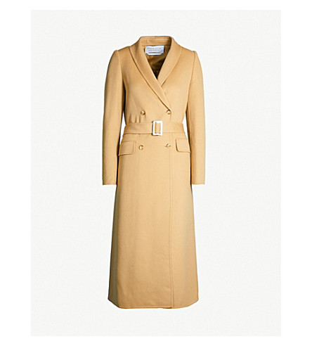 GABRIELA HEARST Joaquin double-breasted cashmere coat (Camel