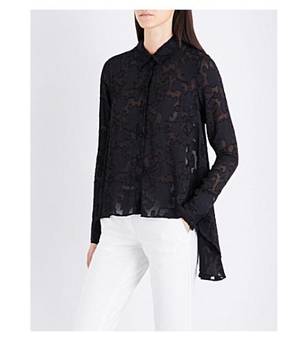 CO Fil-coupé shirt (Black