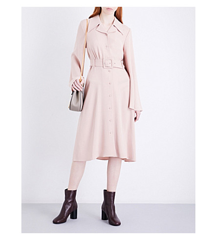 CO Buttoned crepe dress (Blush