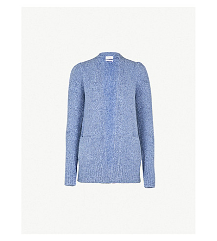 CO Open-front cashmere-blend cardigan (Blue