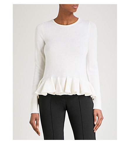 CO Essential wool jumper (Ivory