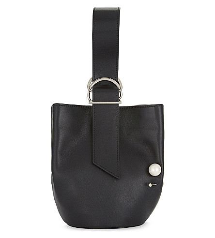 ADEAM Leather tote (Black