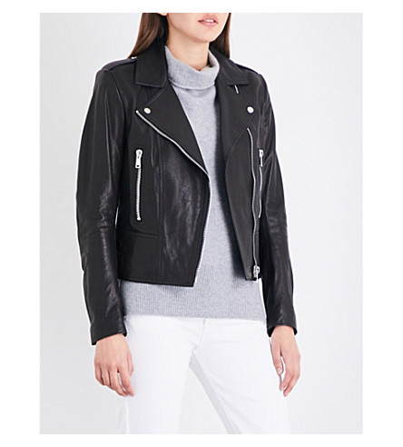 BELSTAFF Marvington leather jacket (Black