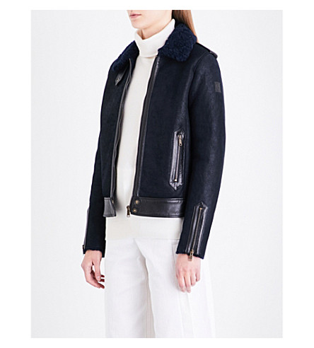 BELSTAFF Danford shearling jacket (True+navy/black