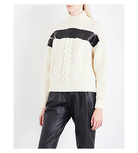 BELSTAFF Safiya merino wool jumper (Natural