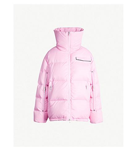 CALVIN KLEIN 205W39NYC Oversized puffer jacket (Anemone