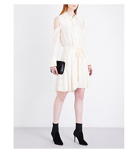 ALEXIS Abbi satin dress (Ivory