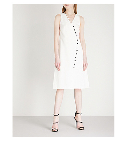 ALEXIS Marit sleeveless crepe dress (Ivory