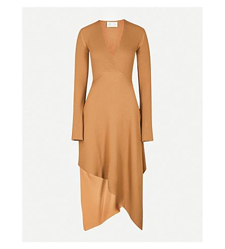 ARJE Moritz wool dress (Camel
