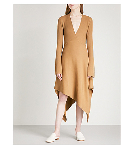 ARJE Moritz wool dress (Camel