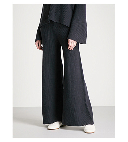 ARJE Cortina cashmere trousers (Antique+indigo
