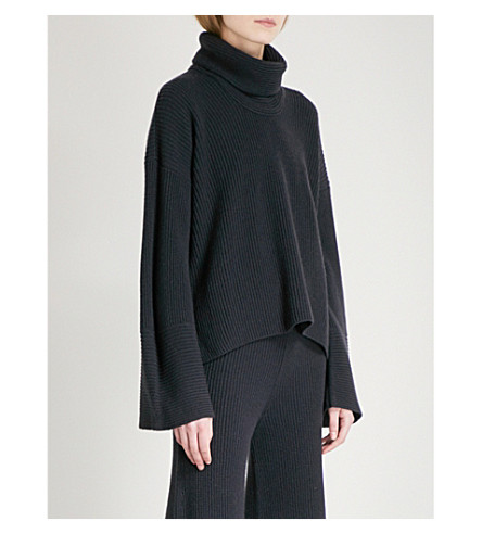 ARJE Cortina cashmere turtleneck jumper (Antique+indigo