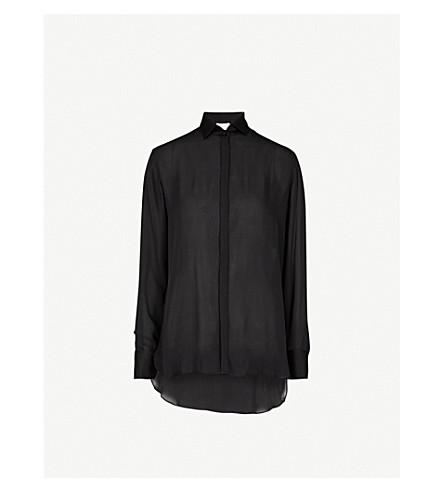 ARJE Yaz silk shirt (Black