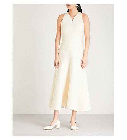 EMILIA WICKSTEAD Josephine crepe dress (Cream