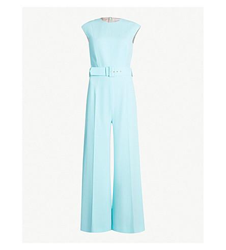 EMILIA WICKSTEAD Barbara wide-leg woven jumpsuit (Mint