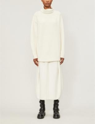 Gene oversized turtleneck cashmere-blend jumper