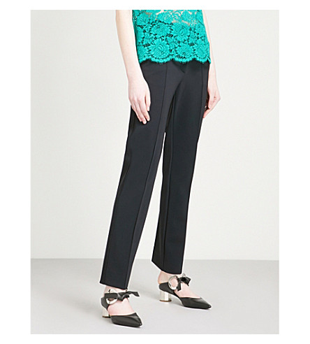 PHILOSOPHY DI LORENZO SERAFINI Slim-fit woven trousers (Black
