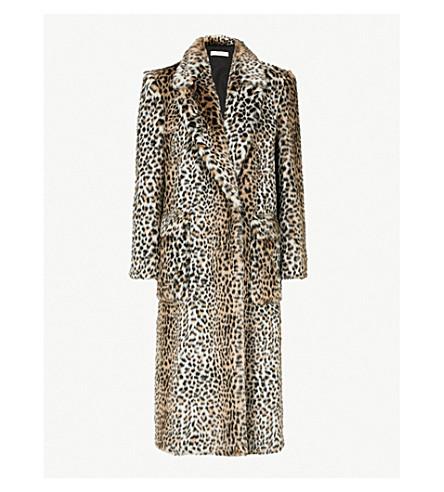 Serafini Faux Lorenzo Coat Fur Di Print Leopard Philosophy qwEg4COn