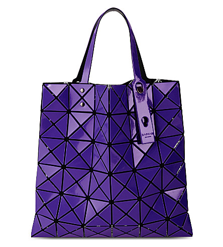 BAO BAO ISSEY MIYAKE Prism tote (Purple