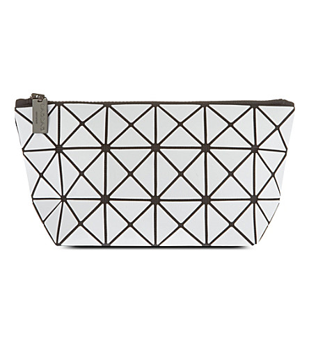 BAO BAO ISSEY MIYAKE Lucent pouch (White