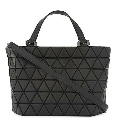 BAO BAO ISSEY MIYAKE Crystal small shoulder bag (Matte+black