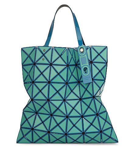 BAO BAO ISSEY MIYAKE Lucent inlaid tote (Emerald
