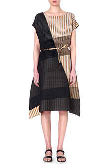 ISSEY MIYAKE Morphing Dot pleated dress