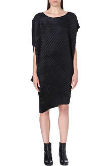 ISSEY MIYAKE Pleat detail dress