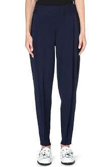 ISSEY MIYAKE High-rise knitted trousers