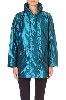 ISSEY MIYAKE Voluminous metallic jacket