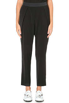 ISSEY MIYAKE Pleated tapered trousers