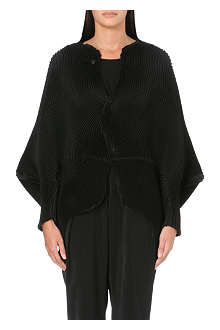 ISSEY MIYAKE Bat wing sleeve pleated jacket
