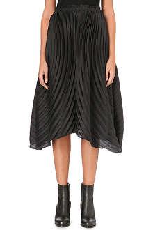 ISSEY MIYAKE Multi-pleated midi skirt
