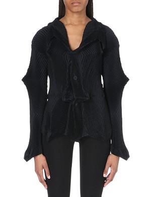 ISSEY MIYAKE Pleated point jacket