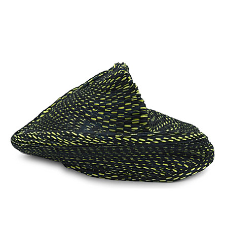 ISSEY MIYAKE Orbit collapsable beret (Yellow heud