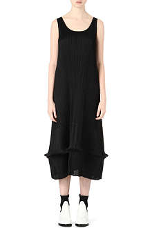 PLEATS PLEASE ISSEY MIYAKE Pleated flared maxi dress