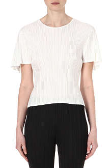 PLEATS PLEASE ISSEY MIYAKE Flared-sleeve pleated top