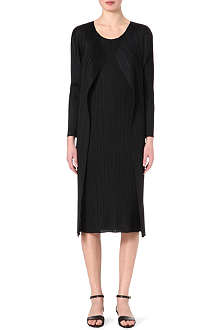 PLEATS PLEASE ISSEY MIYAKE Draped coat