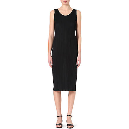 PLEATS PLEASE ISSEY MIYAKE Pleated dress (Black