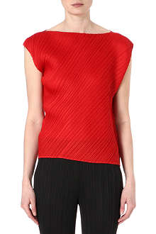 PLEATS PLEASE ISSEY MIYAKE Pleated sleeveless top