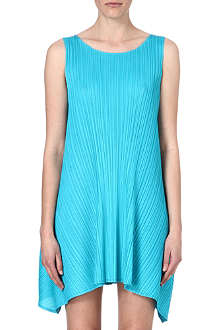 PLEATS PLEASE ISSEY MIYAKE Pleated draped dress