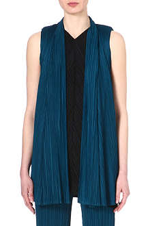 PLEATS PLEASE ISSEY MIYAKE Sleeveless pleated jacket