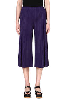 PLEATS PLEASE ISSEY MIYAKE Wide-leg pleated trousers