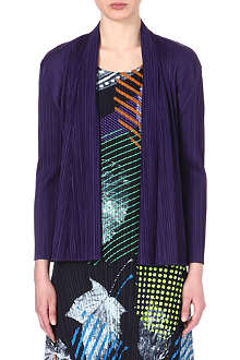 PLEATS PLEASE ISSEY MIYAKE Draped pleated jacket