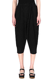 PLEATS PLEASE ISSEY MIYAKE Pleated tapered trousers