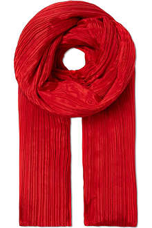 PLEATS PLEASE ISSEY MIYAKE Madame pleated scarf