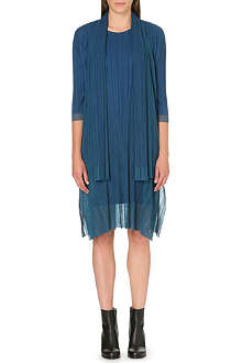 PLEATS PLEASE ISSEY MIYAKE Pleated tulle coat