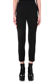PLEATS PLEASE ISSEY MIYAKE Slim-fit pleated trousers