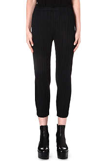 PLEATS PLEASE ISSEY MIYAKE Tapered pleated trousers