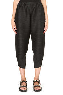 PLEATS PLEASE ISSEY MIYAKE Pleated harem trousers